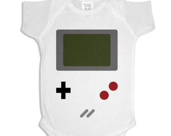 Game Boy Gamer Baby Onesie