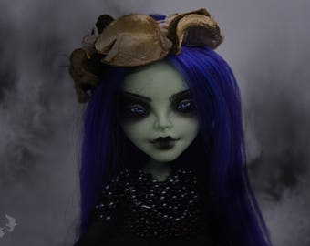 Custom Monster High Doll OOAK Blackthorn