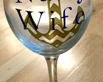 Wine glasses with stem