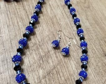 Blue Ocean Jewelry Set