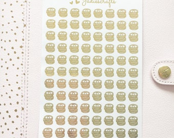 Foil Coin/Money Stickers | Planner Stickers