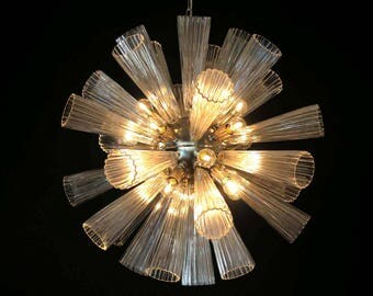 Vintage Murano Glass Sputnik Chandelier