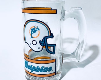 Vintage Dolphins mug | Miami Dolphins | team memorabilia | NFL | vintage Dolpins