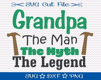 Fathers Day SVG For Grandpa / Happy Fathers Day SVG File / SVG Cut File / Fathers Day File / Dad svg / Grandpa SVg