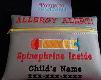Epinephrine bag.  Keep your epi pen close and safe at all time
