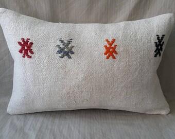 Kilim Pillow, Decorative Pillow, Kilim Pillow, Cushion Cover, Throw Pillow, Hemp Pillow, Turkish Kilim Pillow, Kilim Pillow, Lumbar Pillow