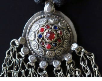 KASHEF TRIBAL NECKLACE - Fusion Tribal Jewelry Pendant Necklace