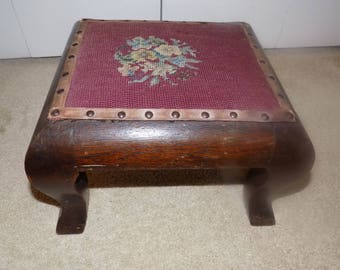 Vintage Antique Step Stool