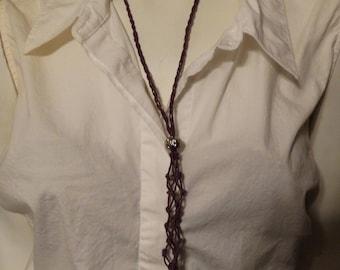 Plum Interchangeable Necklace