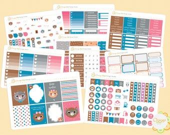 Nerdy Cat Deluxe Weekly Kit, Cat Weekly Kit, Erin Condren Life Planner, Happy Planner