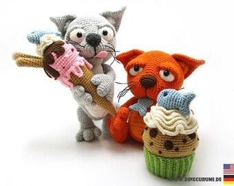Sweet tooth crochet pattern