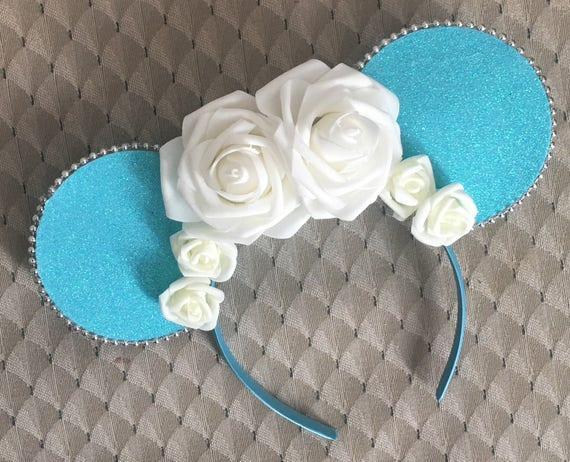 Cinderella inspired Disney minnie Mickey Mouse ears