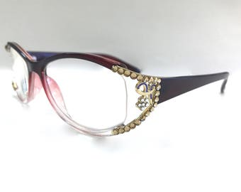 Swarovski Crystal Readers Reading Glasses  +1.50 +2.00 +2.75 +3.50 +4.00