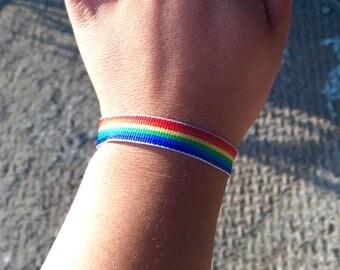 Rainbow Bracelet (Thin)