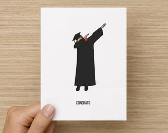 Congrats Dab // Graduation greeting card