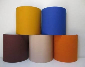 LAMPSHADE for wall lamp cylindrical 1/2 - 20 X 20 cms - hand-made-