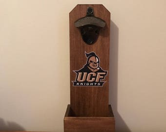 Wall Mounted Bottle Opener - Central Florida Knights