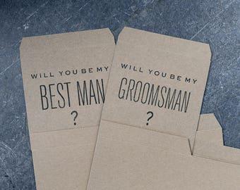Will you be my groomsman? Box