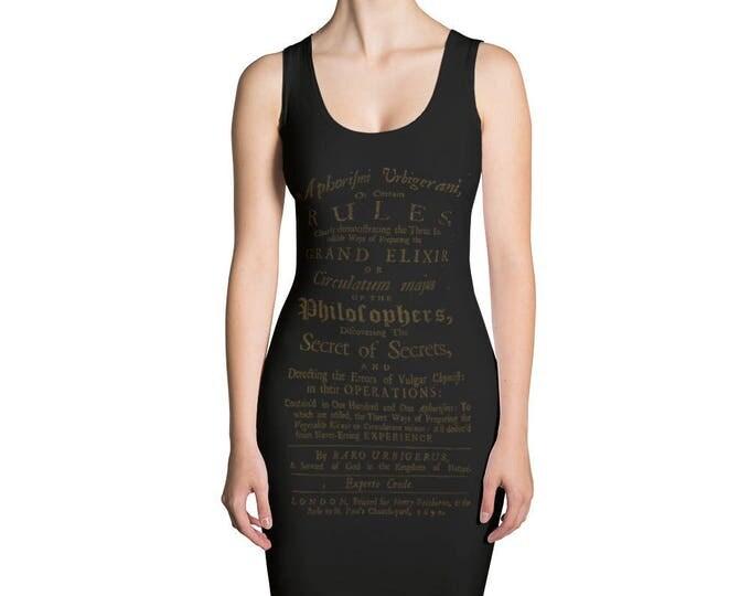 Philosopher's Stone Bodycon Dress