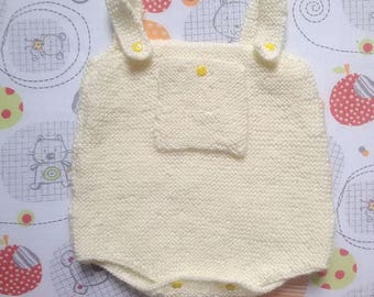 easy opening of 1 to 3 months baby romper