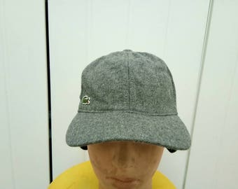 Rare Vintage LACOSTE Wing Hat