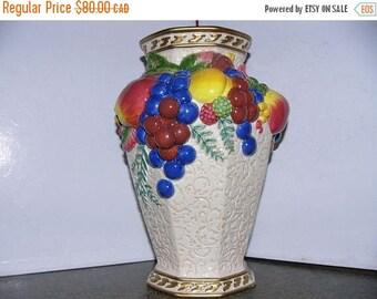 ON SALE Vintage Fitz And Floyd Vase