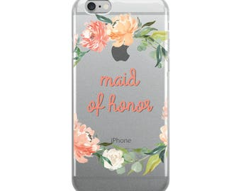 Maid of Honor iPhone Case
