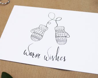 Warm wishes, card Christmas wishes, Christmas, drawing Christmas, christmas greetings, holiday card, holiday greetings, new year wishes