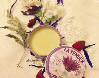 Lavender Winter Solid Perfume