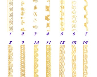 Golden Tape, Creative, Celebration, Lace, Stationery, handmade, Card Making, Retro