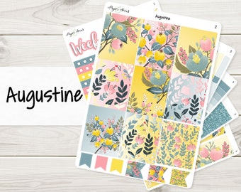 Augustine Weekly Kit | Planner Stickers