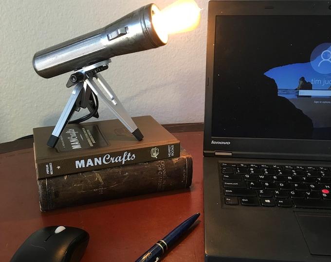 Vintage Flashlight accent lamp.