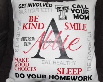 College Pillows