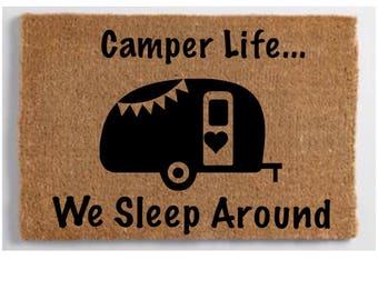 Camper Rug Etsy