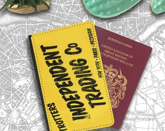 Trotter Only Fools Horses Independent Trading Travellers Passport Cover PT183