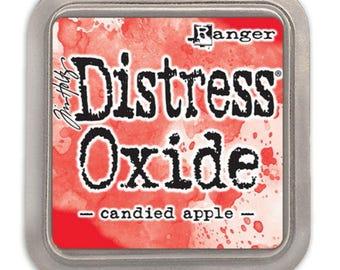 Distress Oxide Candied Apple - Tim Holtz Distress Ink - Red Distress Oxide - Candied Apple Distress Oxide - Tim Holtz Candied Apple Oxide