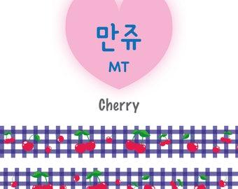 Cherry basket Washi tape