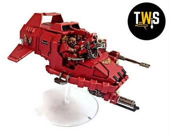 Warhammer 40K, Land Speeder, Commissioned Painting Services, Table Top Standards, Blood Angels