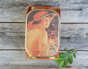 Coca Cola Vintage Drink Delicious And Refreshing Metal Tin With Handles 1980S