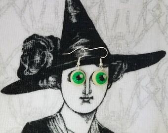 Glow in the Dark Eyeball Earrings