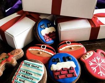 Christmas Dog Treats Gift Box