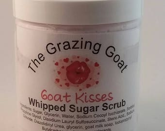 Whipped Sugar Scrub