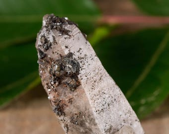 One Extra Small WITCHES FINGER QUARTZ Crystal - Raw Quartz Point, Healing Crystal, Healing Stone, Meditation Crystal, Rocks and Gems E0479