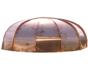 Classic Oval Copper Awning* by ClassicCopper.com