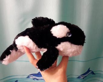 Orca plush toy