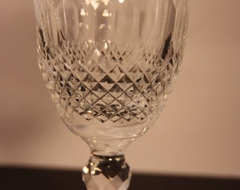Waterford Crystal-COLLEEN white wine, Colleen pattern crystal wine glass, Waterford crystal, crystal barware, Made in Ireland, wedding gift