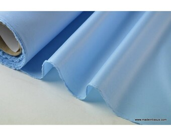Sky blue polyester fabric water repellent for umbrella x50cm