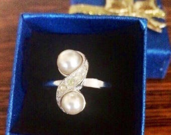 Vintage Sarah Coventry Adjustable Ring