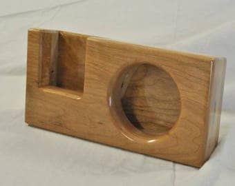 Wooden Speaker Amplifier for iPhone