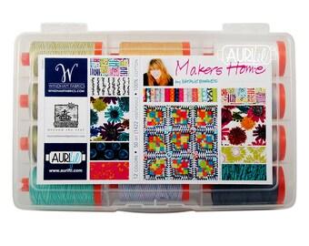 AURIFIL Threads - Natalie Barnes Makers Home box of 12